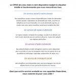 Coronavirus – Service du CPAS de LENS