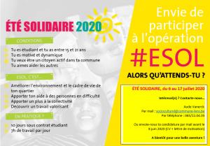 Eté solidaire 2020