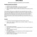 Offre d'emploi : UN ECO-CANTONNIER